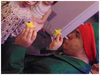 Professor Dan Slater's children's Christmas party
